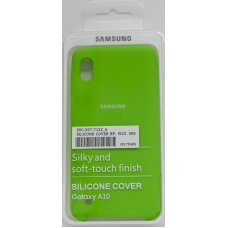 Накладка SILICONE COVER на Samsung Galaxy A10 Травяной