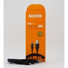USB Кабель Trimax Micro-USB T10M 1m черный