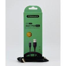 USB Кабель Trimax Micro-USB T11M 1m черный