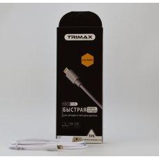 USB Кабель Trimax Lightning T18L 1m белый