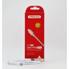 USB Кабель Trimax Micro-USB T18M 1m белый